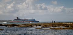 Out To Sea! (Ian M's) Tags: spirit tas heads victoria seascape vsco