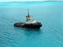 FAITHFUL TO OUR SHIP (Visual Images1) Tags: faithful tugboat water