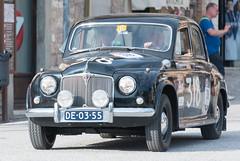 Mille Miglia, Gubbio 2017 (MikePScott) Tags: 75 camera car events gubbio italia italy millemiglia nikon28300mmf3556 nikond600 rover transport umbria