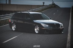 BMW 5 E61 TOURING (JAYJOE.MEDIA) Tags: bmw 5 e61 touring low lower lowered lowlife stance stanced bagged airride static slammed wheelwhore fitment ozwheels ozmito