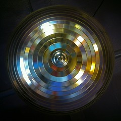 Revolver (Sea Moon) Tags: ball mirror mirrorball colors reflections turning blurred square