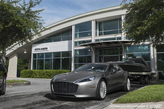 Rapide S (Bryce Womeldurf) Tags: astonmartin chriscraft dimmittautomotivegroup rapide rapides boat carscoffee dealership showroom
