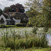 Chocolate Box (Mox Pix) Tags: cottage badger shropshire pond thatch bullrush rural village water cosy