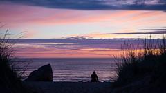 Sunset Alone (arska-76) Tags: sunset alone sky ocean water finland nikon d7200 sigma 1750mm