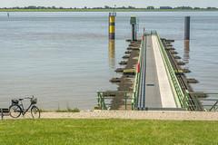 serenity (stevefge) Tags: bremerhaven deutschland duitsland germany rivers elbe jetty bikes bicycles landscape reflectyourworld