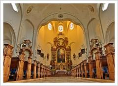 Im Dom des Westallgäus (Norbert Kaiser) Tags: kirche allgäu westallgäu oberschwaben bayern lindenberg stadtpfarrkirche domdeswestallgäus altar church