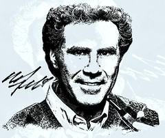 Will Ferrell (Bob Smerecki) Tags: smackman snapnpiks robert bob smerecki sports art digital artwork paintings illustrations graphics oils pastels pencil sketchings drawings virtual painter 6 watercolors smart photo editor colorization akvis sketch drawing concept designs gmx photopainter 28 draw hollywood walk fame high contrast images movie stars signatures autographs portraits people celebrities vintage today metamorphasis 002 abstract melting canvas baseball cards picture collage jixipix fauvism infrared photography colors