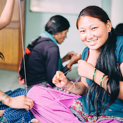 Photo of the Day (Peace Gospel) Tags: girl girls trafficking survivor survivors woman women loved love smiles smiling smile happy happiness joy joyful peace peaceful hope hopeful thankful grateful gratitude handmade crafts crafting craftsmanship making jewelry empowerment empowered empower