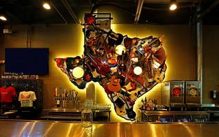 Behind the Bar - LSA Burger Co. Denton, Texas