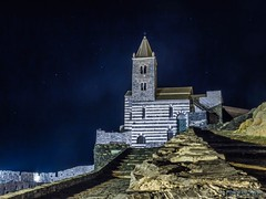 La chiesa (Silver_63) Tags: la spezia mare notte chiesa liguria portovenere