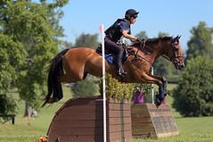 Cross-country at Kentucky Horse Park (Tackshots) Tags: eventing horsetrials crosscountry lexington kentucky horsepark champagnerun horse riding jumping