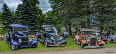 Hot Rods!! 1934 Ford pickup, 1934 Ford coupe & 1929 Essex Super Six (kenmojr) Tags: 2017 antique atlanticnationals auto car classic moncton newbrunswick show vehicle vintage centennialpark kenmo kenmorris carshow nikon d7100 nikkor 18105 hotrod 1934 ford pickup coupe lori yorke 1929 essex supersix ratrod