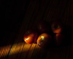 tomatoes (VladPL) Tags: tomatoes tomato vegetables vegan vegetarian blackbackground lowkey nature naturmorte wood woodenfloor floor pomodori 1dsm2 canon1dsmark2 canon1dsmarkii camon1dsmarkii 135 13528 leica leica13528 leica135 leicaoncanoneos light daylight picture canon canondigital eat food beautifullight leicar leicar135 leicar28135