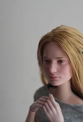 Daylight Mia (pseudanonymous) Tags: doll disney disneystore repaint acrylicpaint