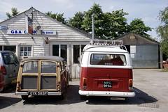 Vintage (vintage vix - Everything is a miracle) Tags: vw campervan vintage morrisminor