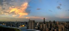 Bangkok 312-3 Panorama (SwissMike62) Tags: thailand bangkok city cityscape metropolis