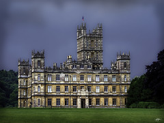 P7200060ab-EditFAA (john.cote58) Tags: downtonabbey highclere castle england tv television pbs newbury landscape architecture windows door entrance classic old aged antique lawn grass outside outdoors tower servants staff butler