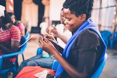 Photo of the Day (Peace Gospel) Tags: girl girls trafficking survivor loved portrait handmade crafts craftsmanship crafting making jewelry artisan artisanal peace peaceful hope hopeful thankful grateful gratitude empowerment empowered empower