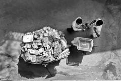 Street Seller (Rk Rao) Tags: streetstreetphotographystreetsellerhouseholditems peopleplacesstoriestruelifedailylifeblackandwhitear newdelhi delhi india peopleplacesstoriestruelifedailylifeblackandwhitearialviewrkrao