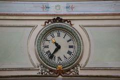 Horloge vintage (Pi-F) Tags: heure vintage horloge paris france rococo style ancien aiguille étoile chiffre romain passage
