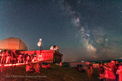 Milky Way Night at the Rothney Observatory (Amazing Sky Photography) Tags: darkhorse july m6 m7 milkyway observers rao rasc rothneyobservatory sagittarius saturn summer outreach stargazing