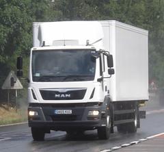 DA65 KUC (joshhowells27) Tags: lorry truck man box unmarked
