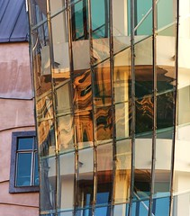 PRAGUE REFLECTIONS By Angela Wilson (angelawilson2222) Tags: prague city urban street building architecture reflections windows light nikon angela wilson