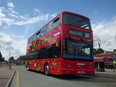 Westfield Electrics (londonbusexplorer) Tags: metroline travel byd k8sr electric byd1475 lj16ezr 260 white city golders green potters bar garage open day 2017 tfl london buses