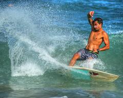 Kealia surf 005 (mannyh808) Tags: surf surfer surfing kealia kauai hawaii waves ocean gardenisland eastside