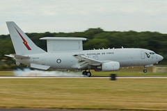 E-7A | A30-006 | 2 sqn | RAAF (Nick Collins Photography, Thanks for 2.75m views) Tags: a30006 e7a 339871991 2sq n364bj wedgetail australia aircraft airshow aviation flying military canon raf fairford riat