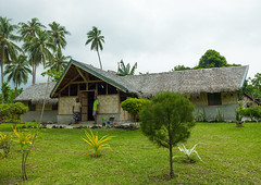 A local guesthouse for tourists, Malampa Province, Malekula Island, Vanuatu (Eric Lafforgue) Tags: a0010994 architectural architecture buildingexterior builtstructure colourimage day developingcountries exterior fulllength garden home horizontal house housing indigenousculture malampaprovince malekulaisland melanesia newhebrides nonurbanscene oceania outdoors pacificislands pacificocean palmleaf photography residentialbuilding residentialstructure rural rustic simplicity southpacific straw thatch thatched thatchedhut thatchedroof tourism traditional traveldestinations trees typical vanuatu village wood vut