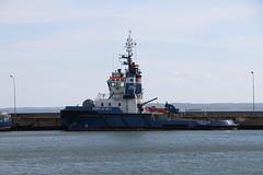 Sassnitz, Hafen, Fairplay 25, Bergungsschlepper (julia_HalleFotoFan) Tags: rügen inselrügen sassnitz fährhafen jasmund hafen bergungsschlepper