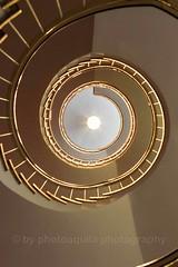 Stairway (photo-aquila) Tags: photoaquila step stufe stairway staircase treppe treppenhaus spiralstaircase spiralstairs wendeltreppe indoor city town stadt light licht germany deutschland munich münchen