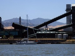 Pipes (thamiter) Tags: kochcarbon pittsburg contracostacounty northerncalifornia delta sailboat mtdiablo water