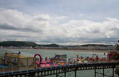 Llandudno with pier (mightymightymatze) Tags: wales uk grossbritannien grosbritannien summer 2017 sommer llandudno pier