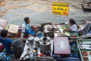marché flottant amphawa - thailande 11