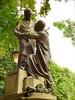 P1310629  SQUARE DES ÉPINETTES ,PARIS 17 ,LA SCULPTURE DE  JEAN LECLAIRE (closier.christophe) Tags: parissculptures paris statue sculptures squares christopheclosier jean leclaire