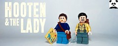 Hooten & the Lady (Random_Panda) Tags: lego figs fig figures figure minifigs minifig minifigures minifigure purist purists character characters film films movie movies television tv toy hooten lady bbc