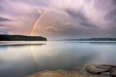 Arc-en-ciel sur la Baie Des Ha! Ha! (gaudreaultnormand) Tags: arcenciel baiedeshaha canada longexposure longueexposition quebec rainbow saguenay