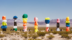 (JawshBeavz) Tags: travel road trip photography explore rurex urbex urban rural destination friends pals whatever pacific northwest tour sights n sounds deth stuff sevenmagicmountains seven magic mountains nevada nv lol rocks
