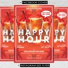 Happy Hours - Premium A5 Flyer Template (ExclusiveFlyer) Tags: exclusiveflyer psd freeflyer freepsd happyhours specialoffer food delisios bavarage caffee restaurant familyfood tastyfood