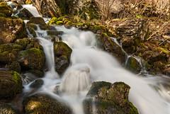 Agua corriente (Carpetovetón) Tags: agua arroyo cascada d200 fluvial largaexposición nikond200 río regato saltoagua sigma1020