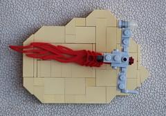 Resistance Skimmer on Crait (Evan Ridpath) Tags: moc snoke set speeder skimmer resistance micro mini lego thelastjedi episode8 legostarwars