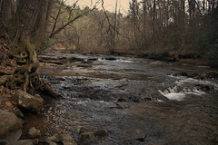 Coopers Creek (Mike McCall) Tags: copyright2017mikemccall photography photo image southern georgia usa vernacular culture south america unioncounty union county hwy60 highway 60 gahwy60 sr60 ga hwy nature stream creek coopers mountain brook water rapids rocks rock landscape
