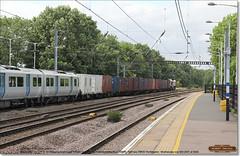 66765 drags brand new 700120 south through Huntingdon, July 12th 2017 a (Bristol RE) Tags: 66765 gbel 66 class66 gbrf 700120 700 class700 45201 huntingdon 6x70