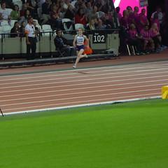 Sophie Hahn heading for victory (zeetha) Tags: paraathletics parasport london2017 sophiehahn 200m