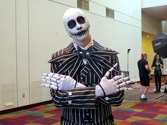 #IndyPopCon @Indianapolis with great costumes. (kennethkonica) Tags: costumes horrorconvention horror people persons canonpowershot canon global random hoosier color midwest usa america indiana indianapolis indy moods indypopcon white black stripes bestshotoftheday pose