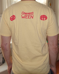 #2185B Ween - God Ween Satan The Oneness (Minor Thread) Tags: minorthread tshirtwars tshirt shirt vintage rock concert tour merch yellow ween dean drugs godweensatan the oneness twintone records 1990 punk country lofi