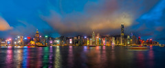 Untitled_Panorama1 (Bee-Teerapol) Tags: kong hong skyline building night victoria district city office urban china harbor business scene downtown harbour modern cityscape asia asian architecture landmark metropolis travel financial chinese panorama beautiful background view landscape tower skyscraper port colorful hongkong famous blue beauty sky light island town economy finance twilight shopping center mountain bay