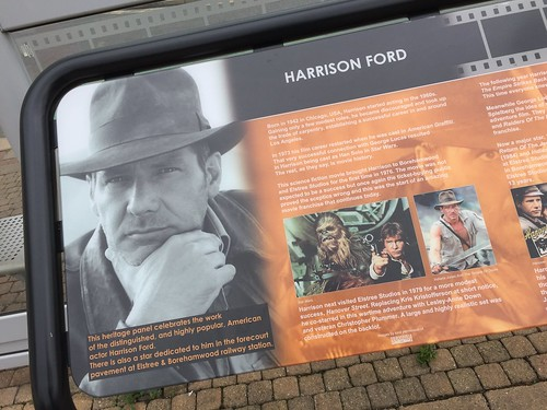 Harrison Ford plaque